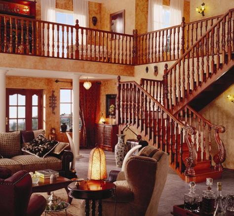 万兴欧式风格楼梯扶手