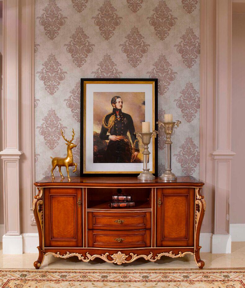 万兴欧式家具宫系列6601小电视柜